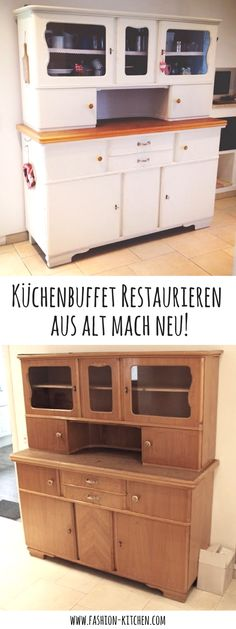 Küchenbuffet DIY   Aus Alt Mach Neu