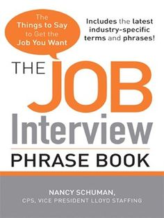 best things to say in an interview