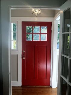 Front Door Update | Woodwork, White houses and Doors