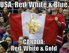 Red White and Gold times TWO!
