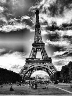 Eiffel Tower Long Time Ago