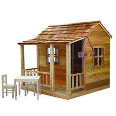 6 ft. x 6 ft. Little Squirt Playhouse