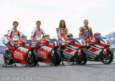 Cadalora, Corser, Abe & Gibernau YZR 500