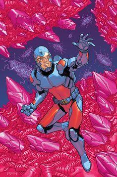 Justice League of America: The Atom Variant Atom Comics, Héros Dc Comics, Dc Comics Characters, Arte Nerd, Dc Rebirth, Comic Art Community, Detective Comics, Dc Heroes, Cultura Pop