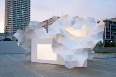 //photographer::Takumi Ota //project::Bloomberg Pavilion Project at The Museum of Contemporary Art Tokyo in Tokyo, Japan //architect::Akihisa Hirata