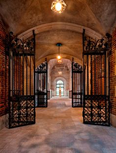View through Yellin Gates into Coins and Medals Gallery