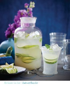 mint cucumber lime crush