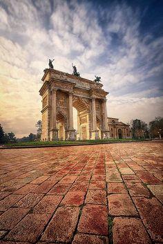 Arco Della Pace - Milan, Italy
