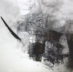 Original Pencil Drawing Abstract Art Drawing Black by obversDeSIGN ( Dorota Jedrusik)