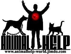Logo of the organization AnimalHelp  www.AnimalHelp-World.jimdo.com