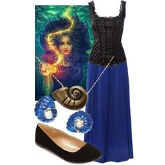 """Vanessa ~ The Little Mermaid"" by liesle on Polyvore"