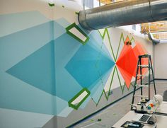 20 incredibly cool design office murals | Creative Bloq
