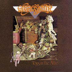 Toys in the Attic by Aerosmith - Classic rock album cover☮~ღ~*~*✿⊱╮ レ o √ 乇 ! Rock N Roll, Pop Rock, Rock Album Covers, Classic Album Covers, Heavy Metal, Classic Rock Albums, Toys In The Attic, Pochette Album, Classic Rock