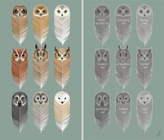 Most awesome free printable owl bookmarks.