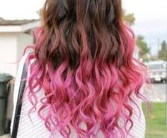 I like the idea of the ombré because it woul be super easy to grow out if you don't like it.