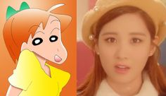 少女時代テヨンが、実写版『クレロンしんちゃん』あいちゃん役で出演!?(ウソです) - Taeyeon Candy News ☺ Snsd