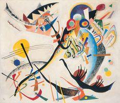 Wassily Kandinsky - Blue Segment - 1921,Guggenheim Museum, New York