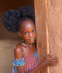 Beautiful Black Babies, Beautiful Children, Gorgeous Girl, Curly Hair Styles, Natural Hair Styles, Collateral Beauty, Dark Skin Beauty, Black Beauty, Black Girl Aesthetic