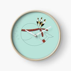 These wall clocks are made from bamboo wood with natural finish or painted black or white. Modern printed polypropylene with plexiglass face. Built in hook at back for easy hanging.