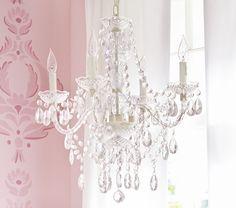 Painted Chandelier, Cheap Chandelier, Flower Chandelier, Chandeliers, Girls Bedroom Chandelier, Fantasy Bedroom, Glass Flowers, Little Girl Rooms, Room Lights