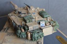 M1A1 Abrams 2003 Iraq, Academy, 1/35 | Plastic Models World