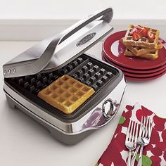 Calphalon® Waffle Maker in Top Small Appliances | Crate and Barrel