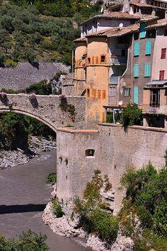 Old Bridge, Entrevaux, Provence