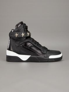GIVENCHY - star studded hi-top sneaker