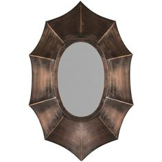 Safavieh Serafina Wall Mirror ($219) ❤ liked on Polyvore featuring home, home decor, mirrors, brown oth, interior wall decor, safavieh, brown wall mirror, wall mounted mirror and wall mirrors