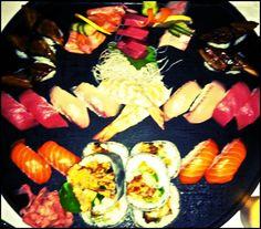 Ocha sushi & sashimi platter