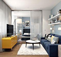 Дизайн интерьера для квартир, загородных домов, офисов и гостиниц. | Голубой гром
