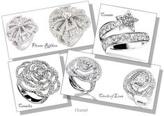 Chanel engagement ring collections