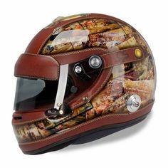 """(GP de Mônaco de 2014) """"Estiloso, o capacete do Sutil em Mônaco. Não reparei na TV. Ele está usando isso mesmo? A pintura é um primor."""" #Adrian #F1 #helmet"""
