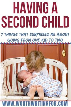 Expecting baby number two or thinking about having a second child? Check out these 7 things that surprised me about having a second child! Second Baby, Second Child, 2nd Baby, Gentle Parenting, Parenting Hacks, Mindful Parenting, Preparing For Baby, Parenting Toddlers, All Family