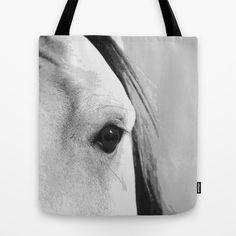 Horses Eyes 3 Tote Bag by Horseaholic - $22.00