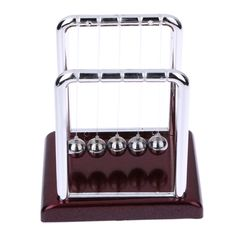 Newtons cradle balance balls desk toy desk science education cheap toys educational buy quality gift gifts directly from china designer toy suppliers new design cradle steel balance ball early fun development desk negle Image collections