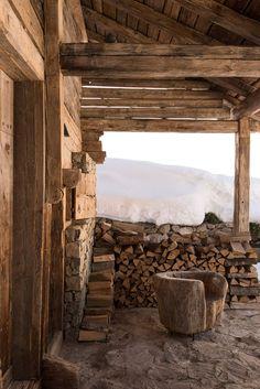 Шале дизайнера во Французских Альпах | Фотографии альпийского шале
