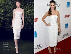 Hilary Swank In Nicholas Oakwell Couture - 'You're Not You' LA Premiere - Red Carpet Fashion Awards
