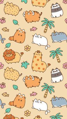 Wallpaper Gatos, Cat Wallpaper, Kawaii Wallpaper, Animal Wallpaper, Disney Wallpaper, Cute Wallpaper Backgrounds, Wallpaper Iphone Cute, Pretty Wallpapers, Cute Cartoon Wallpapers