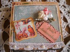 Cartão cavalete