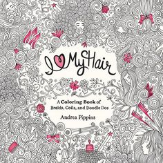 I am so very excited to announce that I'm working on an adult coloring book dedicated to hair (insert ***YAYYYYY!!!***). I Love My Hair celebrates diverse hairstyles with elaborate doodles ready to be embellished and colored in. The book will be released on November 10, but you can pre-order your copy on Amazon (link in profile). I look forward to sharing the progress of the book and sneak peeks as we move closer to the date and beyond. #IHeartMyHair