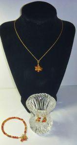 Carnelian Gemstone Beaded Jewelry Set