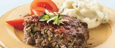Add nutrition in disguise—kids might eat that green veggie when it's mixed in a tasty meatloaf.