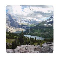 Hidden Lake Overlook Glacier National Park Montana Puzzle Coaster