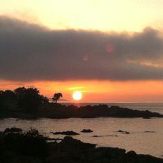 Sunset over Bornholm
