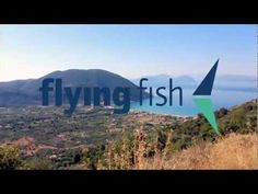 Flying Fish in Vassiliki! A small fishing village famous for it's mountain biking and watersports conditions. In the summer host to hundreds of mountain bikers, windsurfers, sailors and divers! Find out more and book a Flying Fish course at flyingfishonline.com