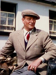 John Wayne in a publicity still for The Quiet Man (1952)