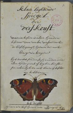 A colourful book I encountered this book from 1692 in a French database today and it turns out to be quite special. For one thing, apart fro...