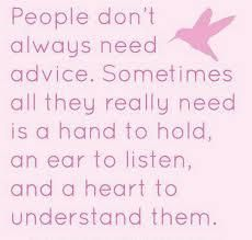 Be a heart to understand them <3