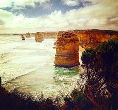 12 Apostles #12apostles #12apostoles #melbourne #australia #rocks #architecture #ocean #sky #nature #grass #rock #mountain #instapic #beautifuldestinations #beautifulcity #instagood #instablogger #bloglife #photooftheday #conquerall #photograph #skylover  #conquertheview #amazed #loveit #clouds #amazed #espectacular #traveler #travelingaround #miracle by conquertheview http://ift.tt/1ijk11S